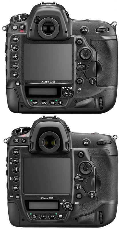 Nikon d5 review dslrbodies thom hogan bythom d4 versus d5 back fandeluxe Gallery
