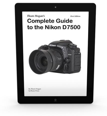 Nikon D7500 Guide | DSLRBodies | Thom Hogan